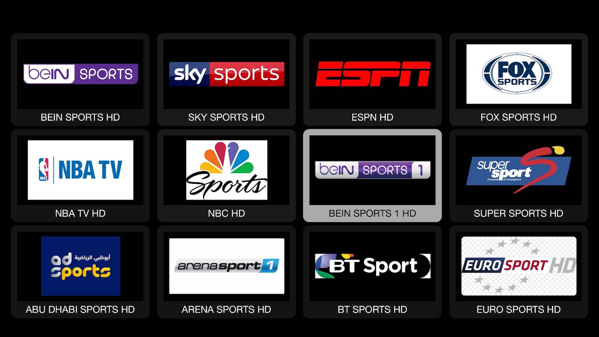 Live Streaming - ViPTV Player screenshot 1