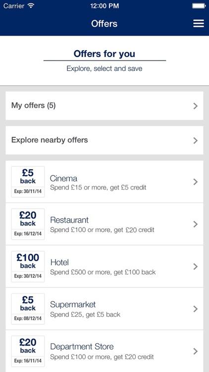 Amex UK screenshot-4