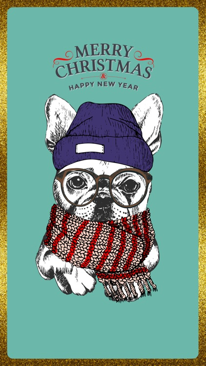 Happy Dog Holiday Cards screenshot-3