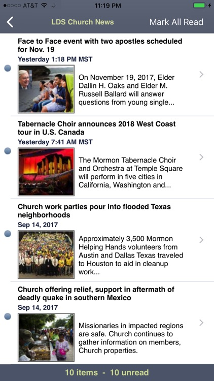 LDS News screenshot-2