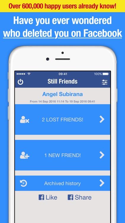 Still Friends for Facebook