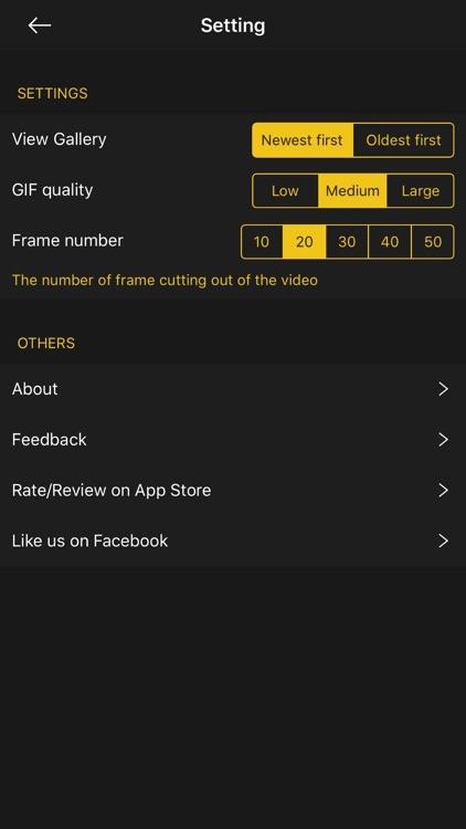 GIF Maker - GIF Editor 2018 screenshot-4