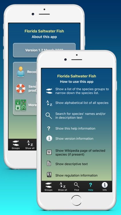 Florida Saltwater Fish screenshot-4