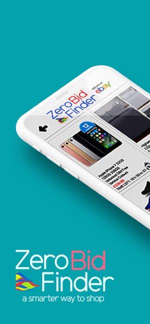 Zero Bid Finder For Ebay Usa On The App Store