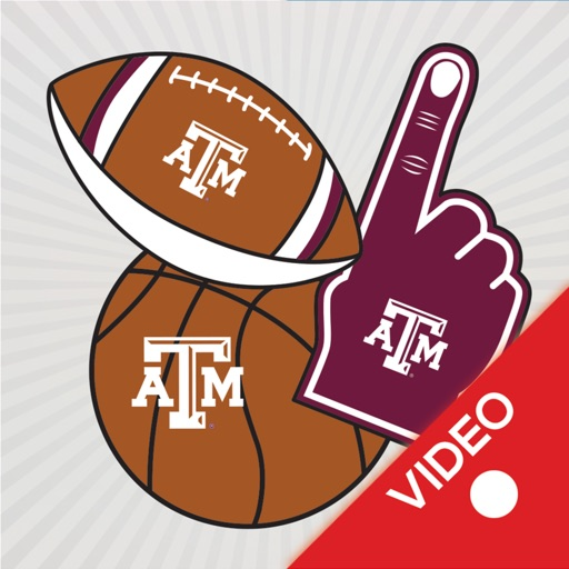 Texas A&M Aggies Animated Selfie Stickers