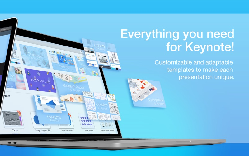 Screenshot #2 for Toolbox for Keynote -Templates