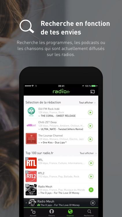 radio.fr Musique, Radios, FM screenshot-4