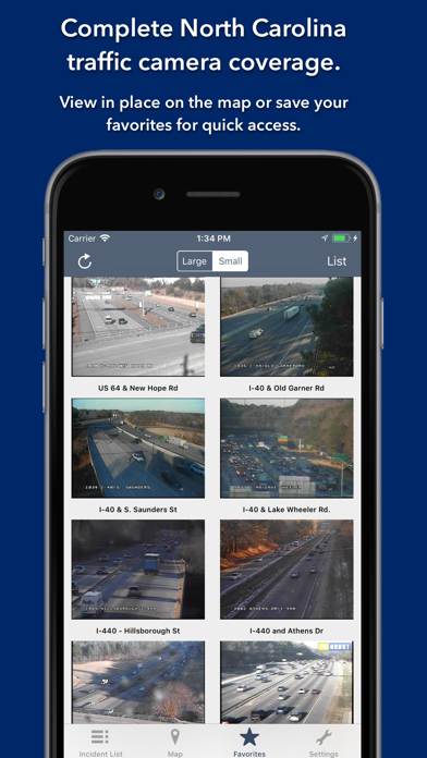 Screenshot for North Carolina Roads Traffic in Sweden App Store