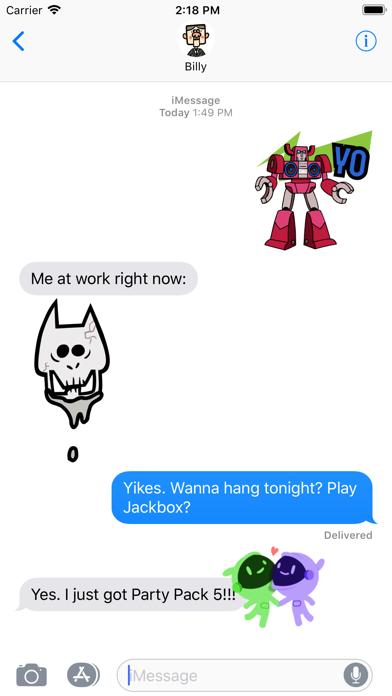 Jackbox Games Sticker Pack 2 screenshot 2