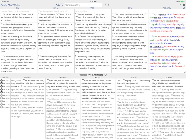 PARALLEL PLUS Bible-study app on the App Store