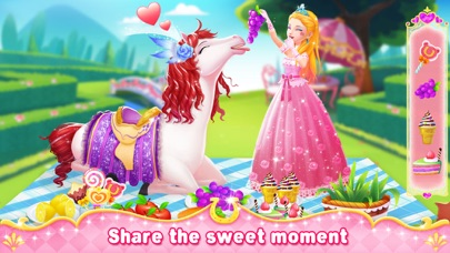 Princess Horse Racing Screenshot on iOS