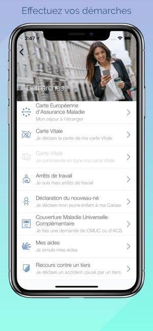 Ameli L Assurance Maladie Dans L App Store