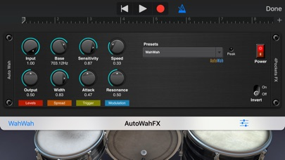 Auto Wah AUv3 Plugin screenshot 2
