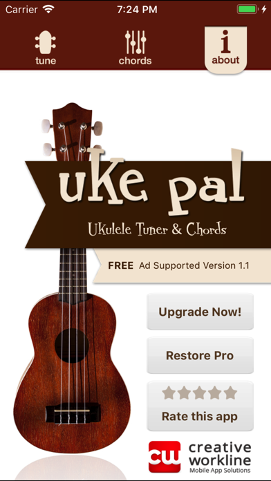 uke pal - Ukulele Tuner&Chords screenshot three