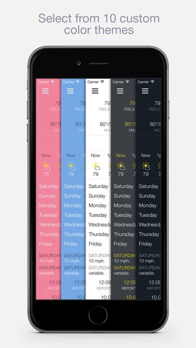BeWeather 2 Pro Screenshots