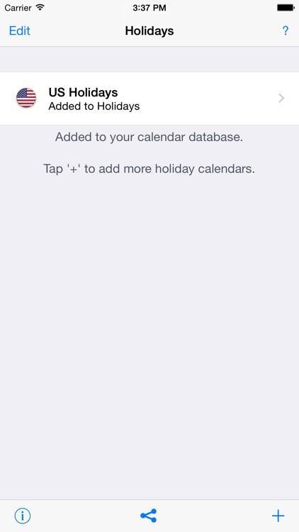 Holidays 2018 edition screenshot-3