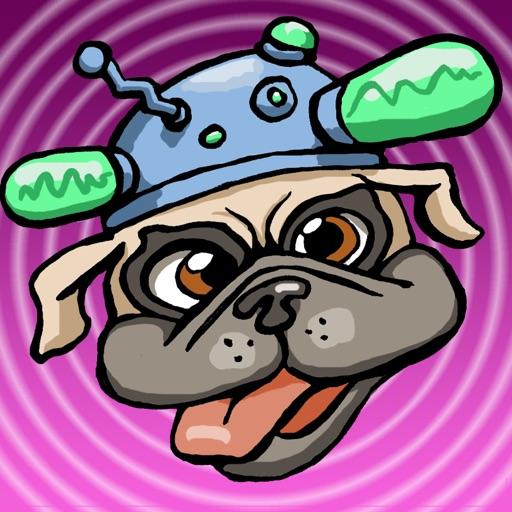 Detective Sherlock Pug