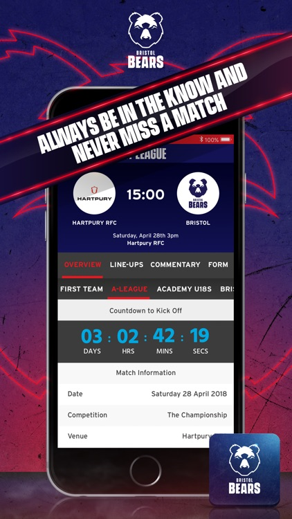 Bristol Bears Official App screenshot-4