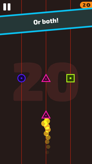 ColorShape - Endless reflex game screenshot 3
