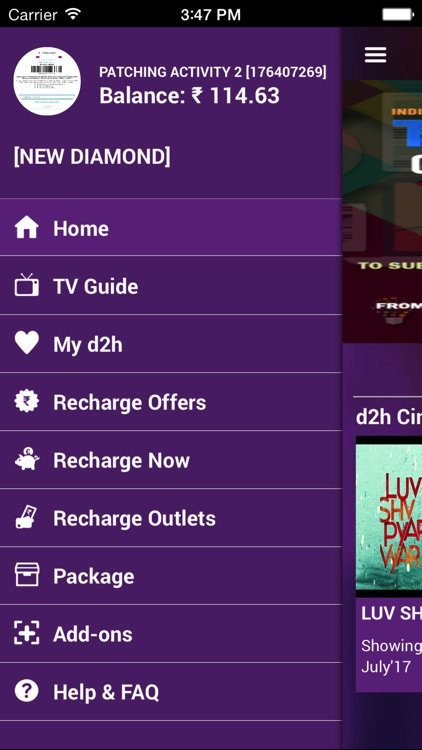 d2h infinity by Videocon d2h Limited