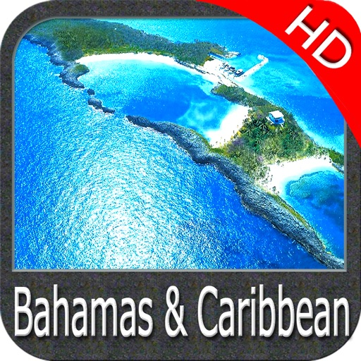 Bahamas and Caribbean HD chart