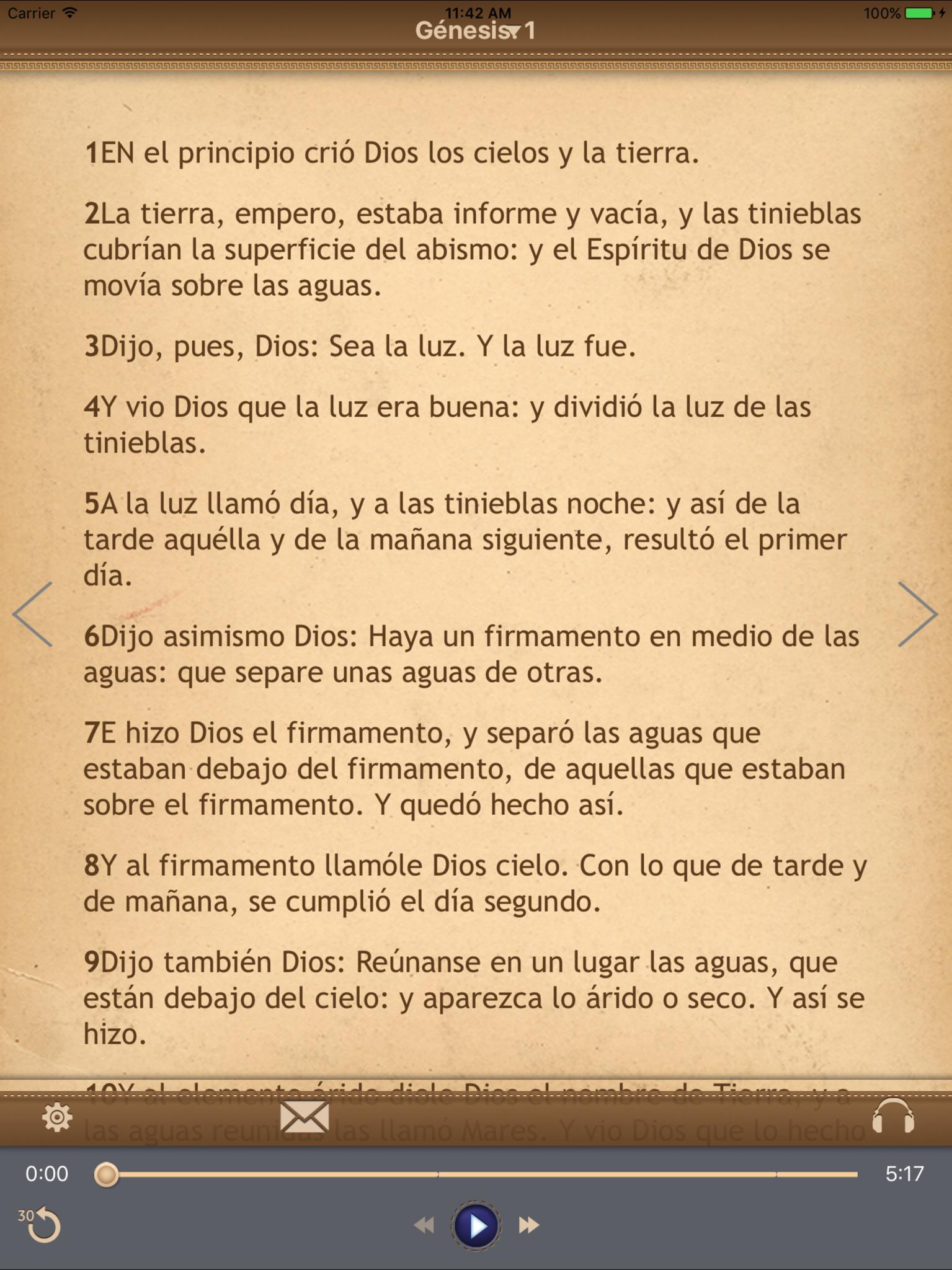 La Biblia Católica con audiobook para iPad Screenshot