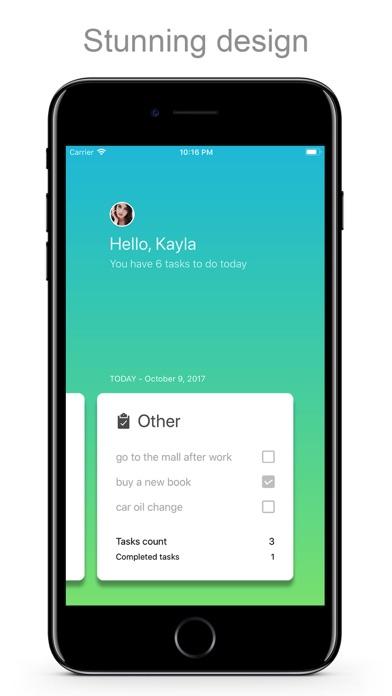 Smart TODO - Grouped list screenshot 5