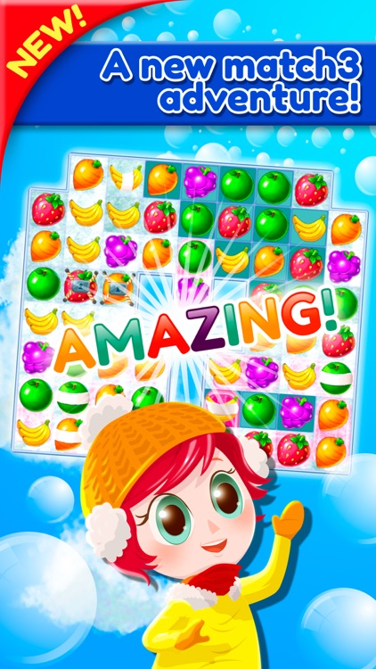 Sweet Fruit Jam Match 3 Game