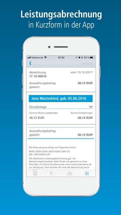 Barmenia RechnungsApp screenshot-3