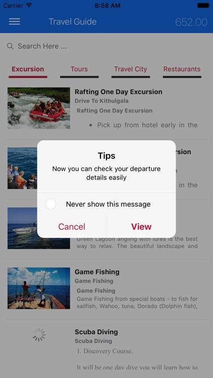 Exotic Travel Guide screenshot-3