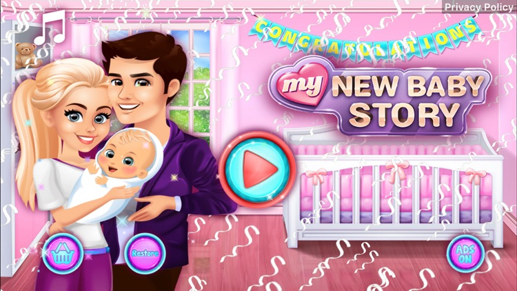 My New Baby Story screenshot-0