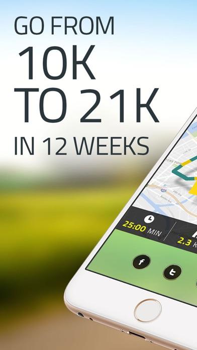 Half Marathon Trainer: 21K Run Screenshot