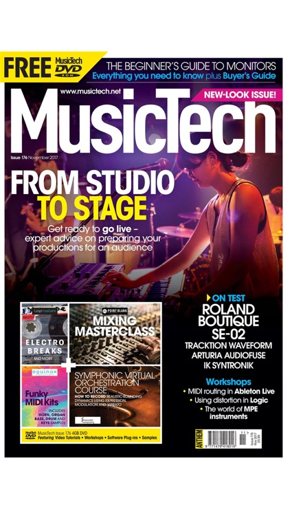 MusicTech Magazine screenshot-0
