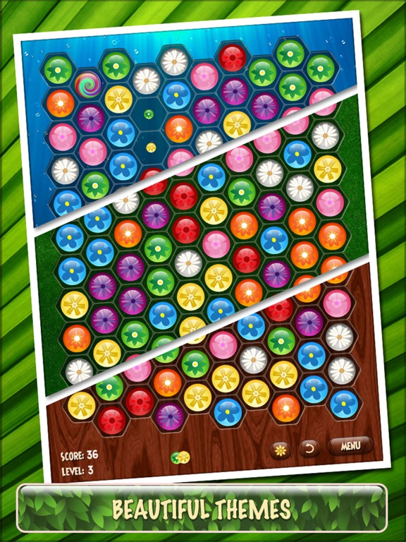 Flower Board HD - A relaxing puzzle gameのおすすめ画像4