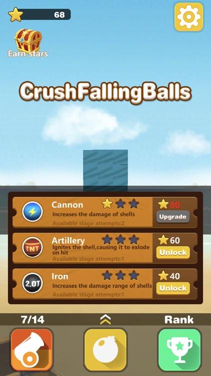 Crush Falling Balls
