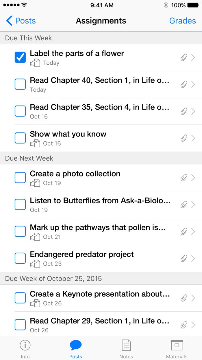 iTunes U Screenshot