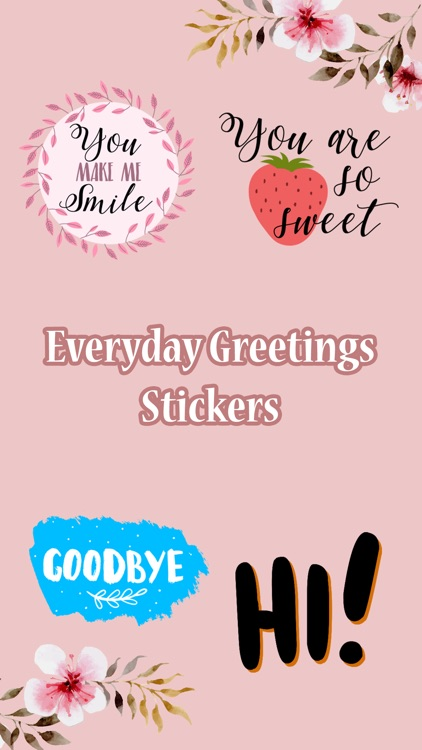 Everyday eGreetings Stickers
