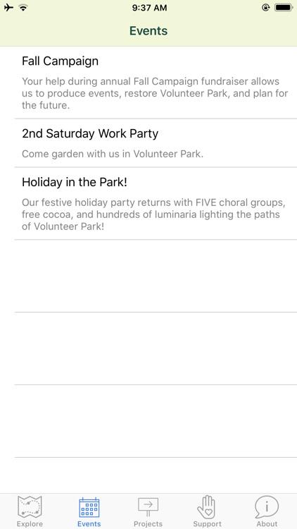 Volunteer Park Tour screenshot-3