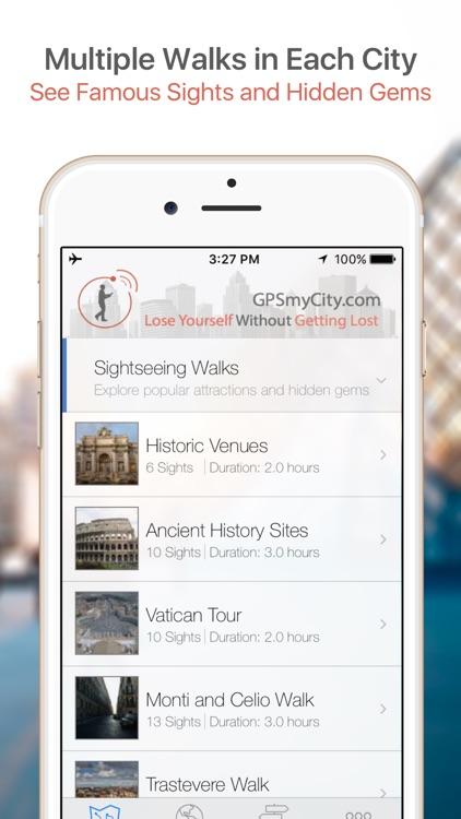Avignon Map & Walks (F) screenshot-0