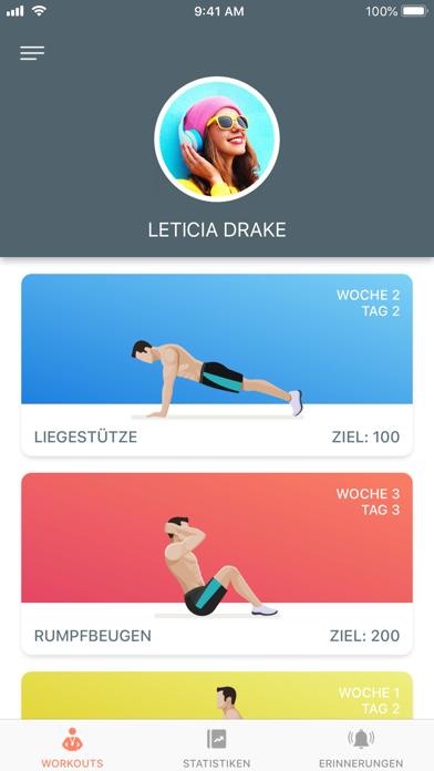 Screenshot for Just 6 Weeks PRO in Switzerland App Store