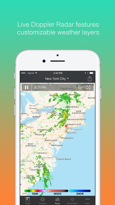 1Weather: Forecast and Radar for Windows