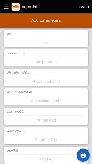 Screenshot for Aqua-Info - Aquarium in United States App Store