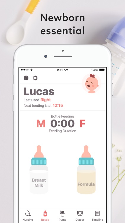 Newborn Baby Tracker screenshot-0