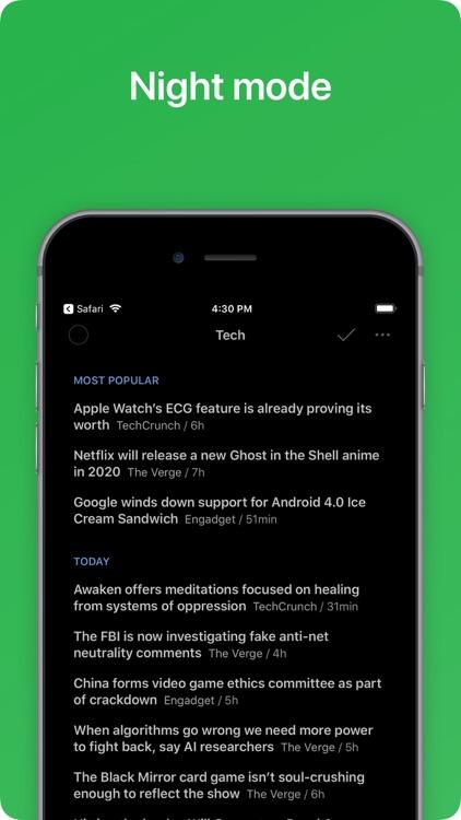 Feedly - Smart News Reader screenshot-5