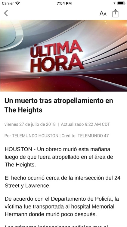 Telemundo Houston screenshot-3