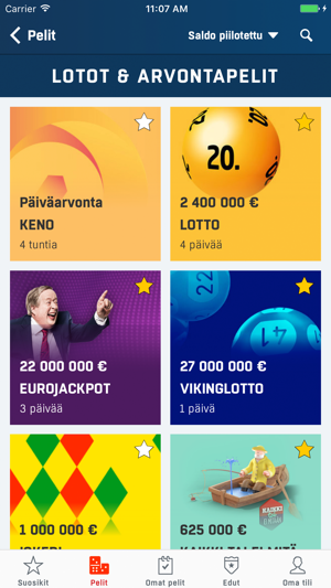 ‎Veikkaus on the App Store