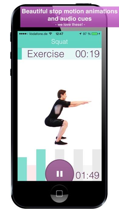 Level+Up Exercise Workout screenshot three