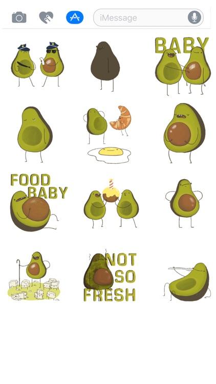 Avocado Stickers