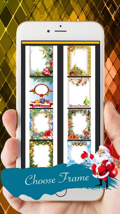 Magical Merry Xmas Photo Frame screenshot-3