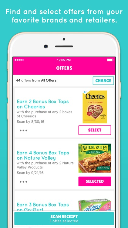 Box Tops® Bonus App – School Fundraising